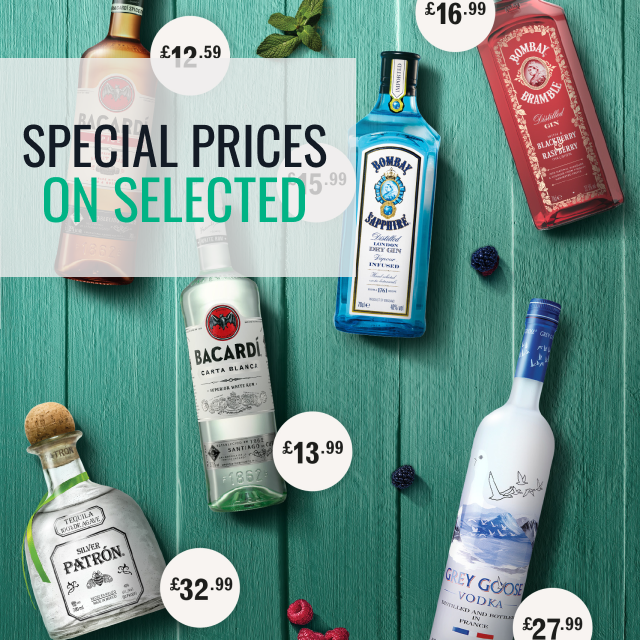 Bacardi Martini - Special pricing on selected products